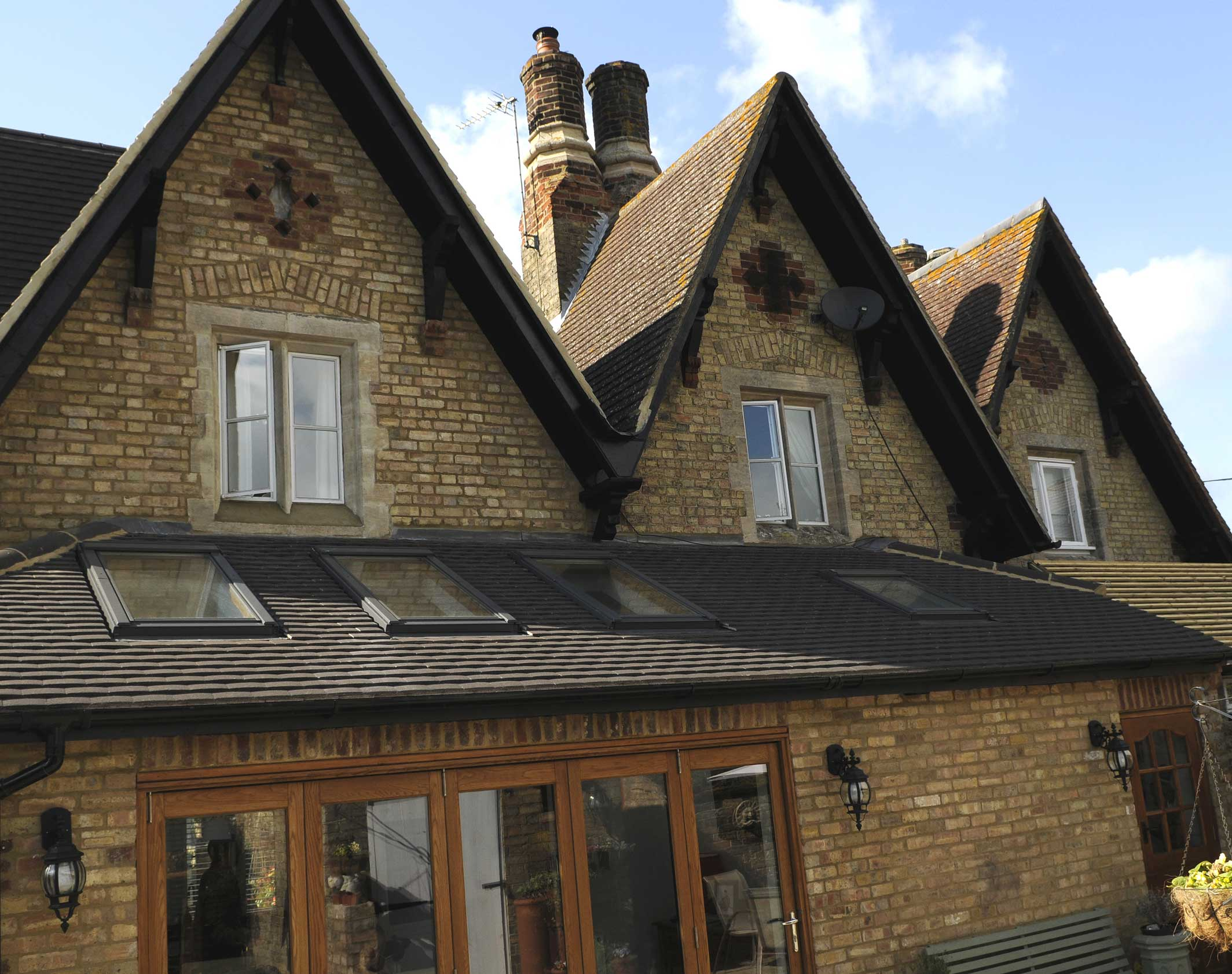 House extension to period cottage by the Good local builders