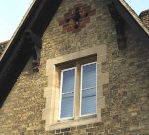 Quality Workmanship on the windows of a 2 storey house extension